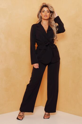 Eve Miss Independent Two Piece Black Front