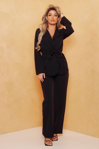 Miss Independent Two Piece Black