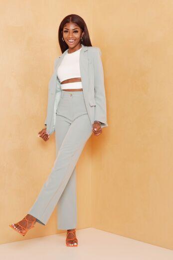 Eve Mistress Pantalon Mint Front