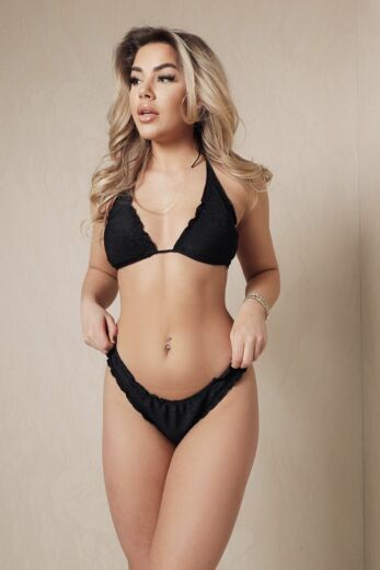 Eve All About You Bikini Lurex Black