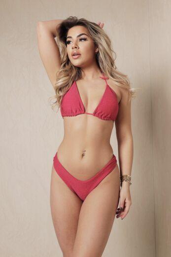 Eve Time Out Bikini Lurex Fuchsia