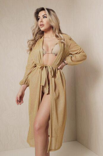 Kimono Lurex Gold
