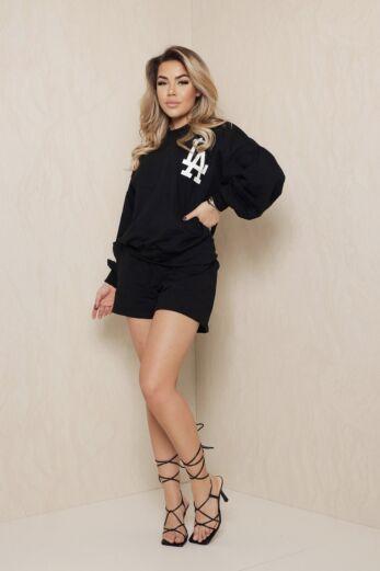 LA Vibes Comfy Set Black