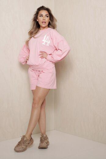 Eve LA Vibes Comfy Set Pink Front