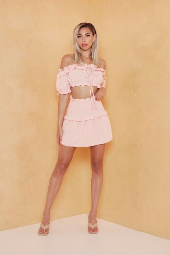 Sweety Vibes Two Piece Pink
