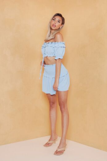 Eve Sweety Vibes Two Piece Sky Front