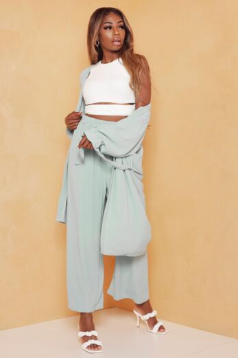 Vision Classy Linnen Two Piece Sage Green
