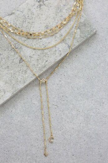 Malibu Breeze Necklace In Gold