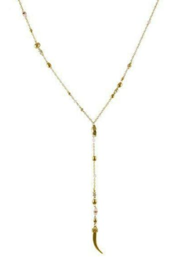 Million Miles Away Necklace In Gold