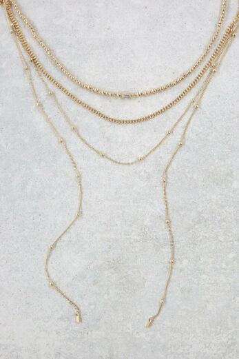 Sophisticated Stands Necklace Set