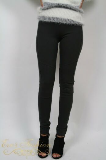 Edita Legging Grey Front