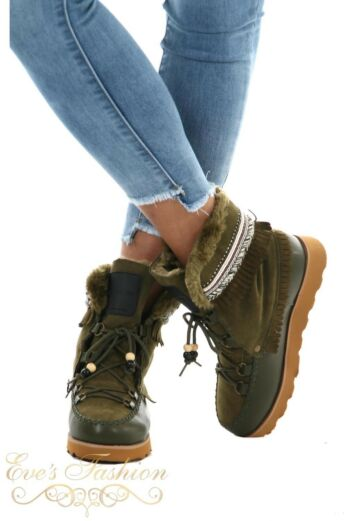 Jacky Luxury Winter Boots Army Front