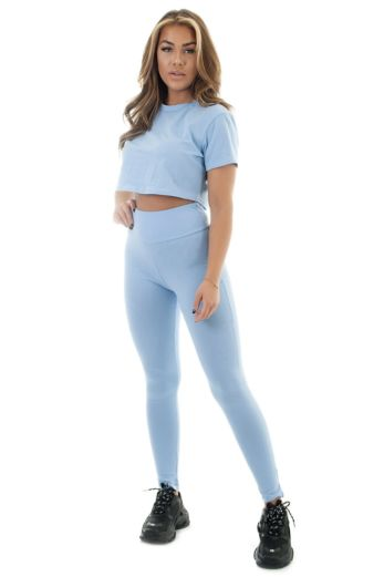 Eve Hayden Two Piece Baby Blue Front
