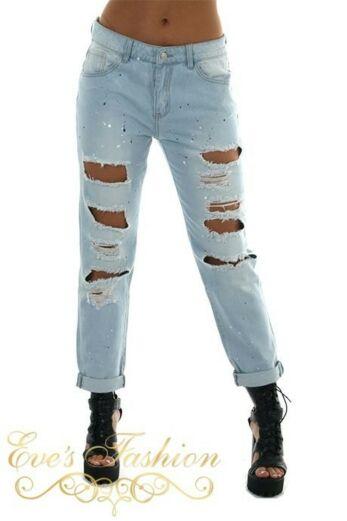 Eve Jada Boyfriend Jeans Front Close