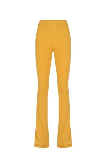 By Veer Flare Pants Yellow Front