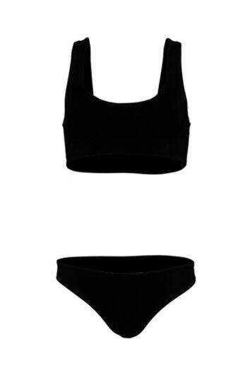 LA Sisters Sporty Bikini Black Still