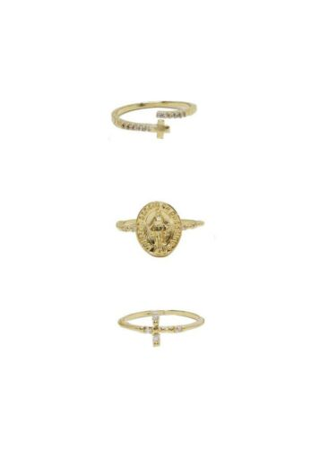Ettika Faithful Ring Set
