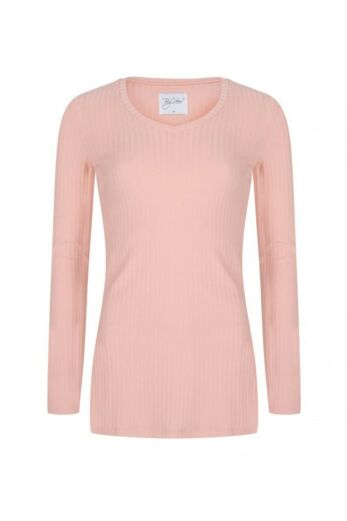 By Veer V-Neck Sweater Powder Pink Front