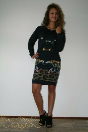 Panther Sweat Dress