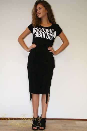 Fringe Skirt Long