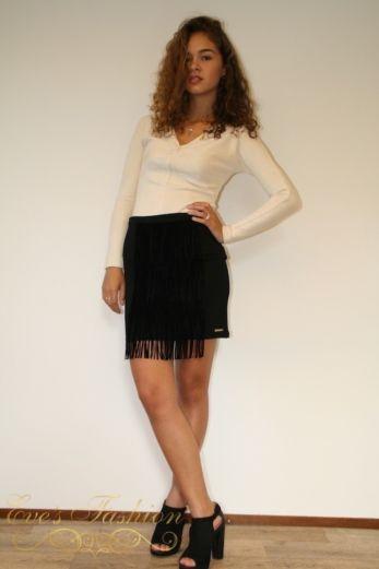 Fringe Skirt Mini