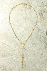 Vanessa Mooney The Gold Amparo Rosary Front