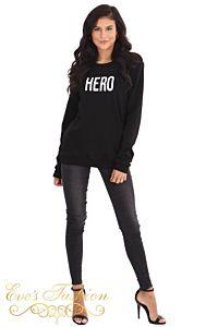 LA Sisters Hero Sweater Black