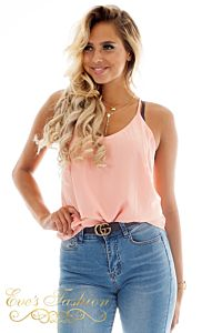 Eve Emma Top Pink Close