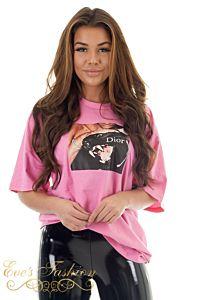 Panther Tee Pink