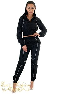 Tech Tracksuit Black