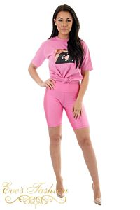 Killin' It Cycling Short Pink