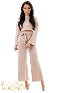 Reese Two Piece Loungewear Creme