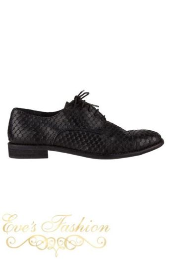 Cali Boyfriend Snake Shoes zijkant