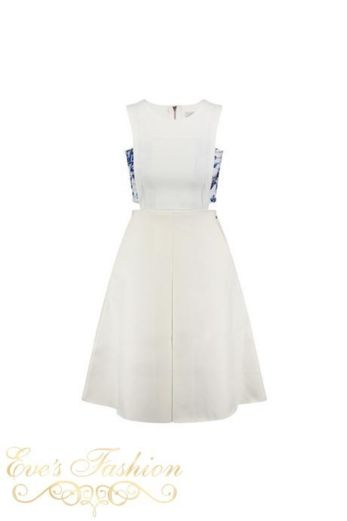 Tailor&Elbaz Barcelona Dress White recht