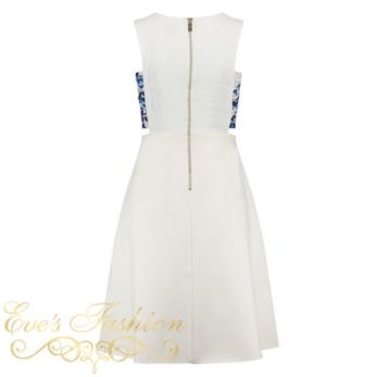 Barcelona Dress White