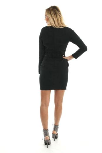 Victoria Dress Belt Black