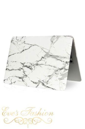 Marble Case White/Silver Macbook