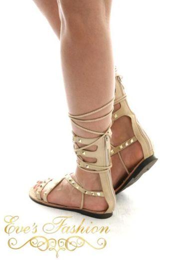 Eve - Gladiator Sandal Nude