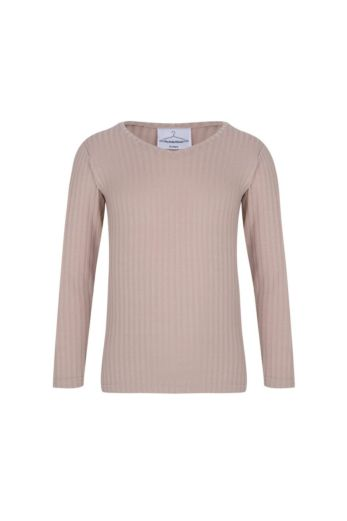 By Veer Kids V-Neck Sweater Creme Front