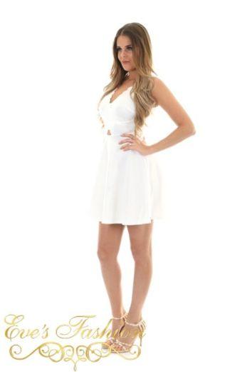 Abby Dress White