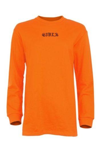 LA Sisters - Girls Sweater Dress Orange