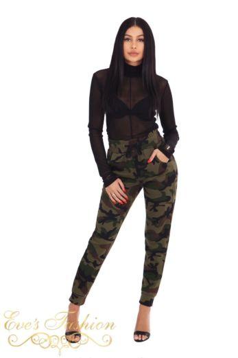 LA Sisters Camouflage Sweatpants