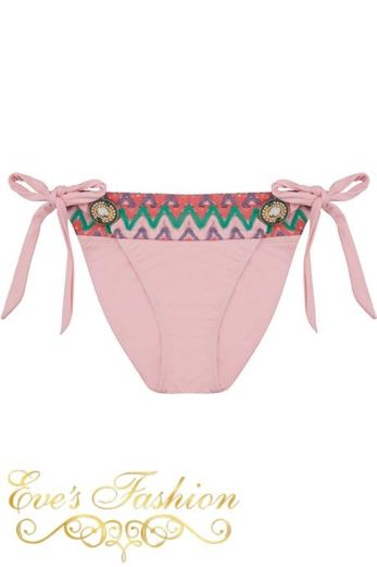 Iconic Small String Bottom Sweet Pink