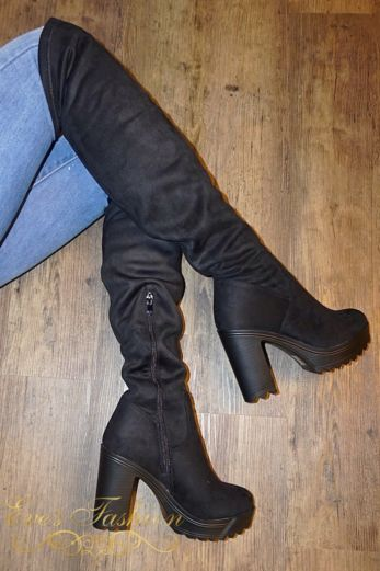 Eve - High Knee Boots 2.0