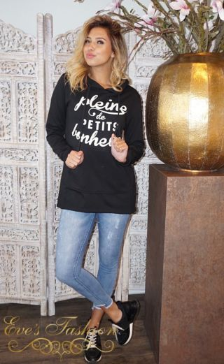 Plaine Sweater Black