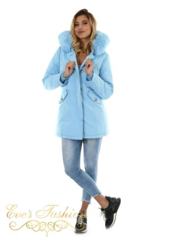 Eve Parka Dreamy Blue Front