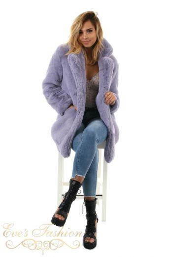Eve Madam Chloe Coat Lila
