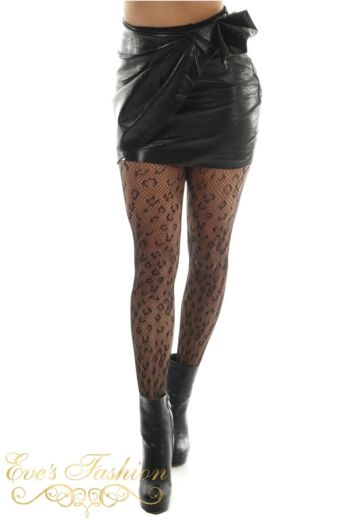 Eve Fab Skirt Black Front