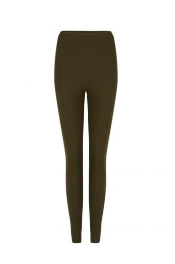 By Veer Legging Army Green Front
