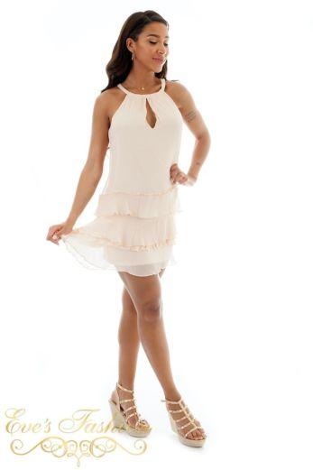 Jacky Luxury Amelle Tunic Powder Side Pose